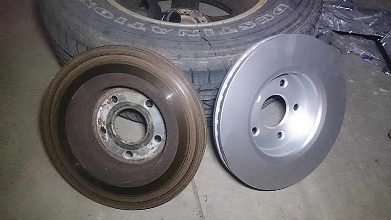 can you replace the brake pads without changing rotors