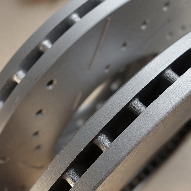 Vented vs. Drilled and Slotted Rotors