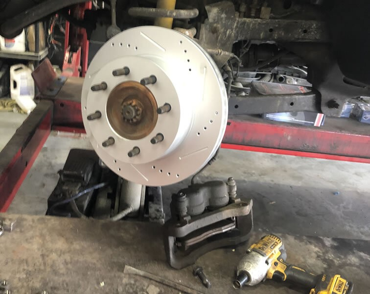 Should you change your brake fluid when you change your brake rotors